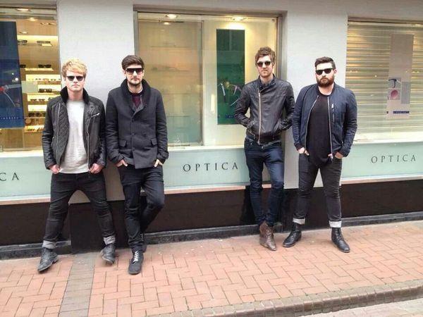 Kodaline in Optica Dublin Eyewear