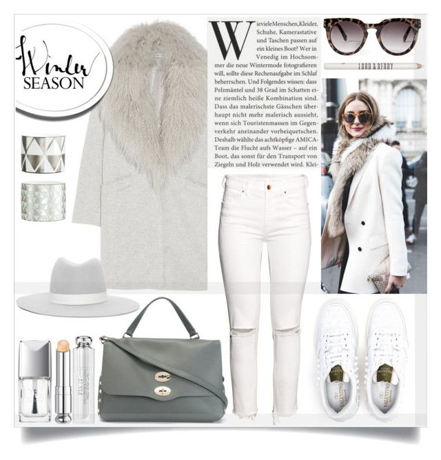 """""""new year style"""" by sophie-martina ❤ liked on Polyvore featuring Forever 21, H&M, Elizabeth and James, Janessa Leone, Valentino, Zanellato, Christian Dior, Lord & Berry and styleresolution"""