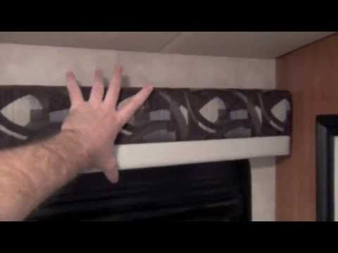▶ How to Re-Cover RV Window Valances - YouTube
