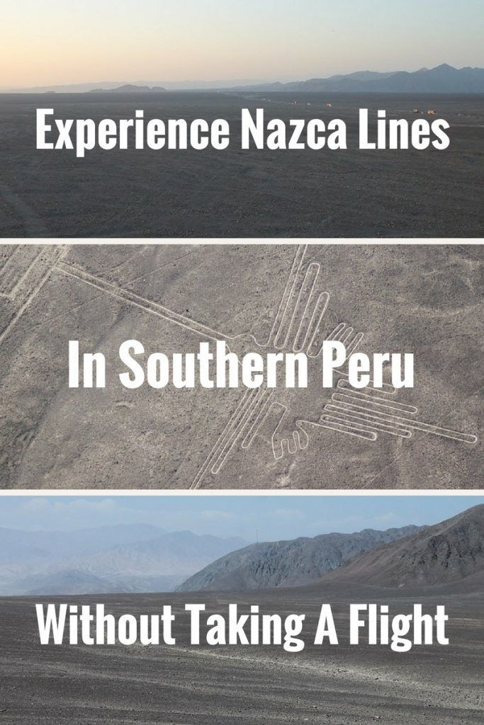 Travel in Peru South America: what it is like to experience Nazca Lines from the ground level? This post will tell you. Click to read more.