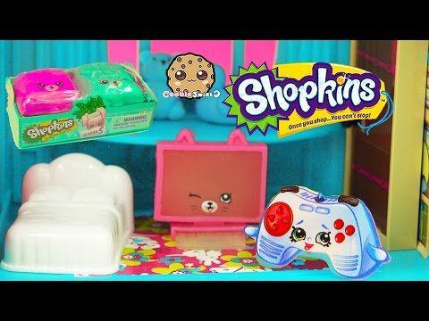 Season 5 Shopkins Petkins Backpack Blind Bag + Play Video - Cookieswirlc - YouTube