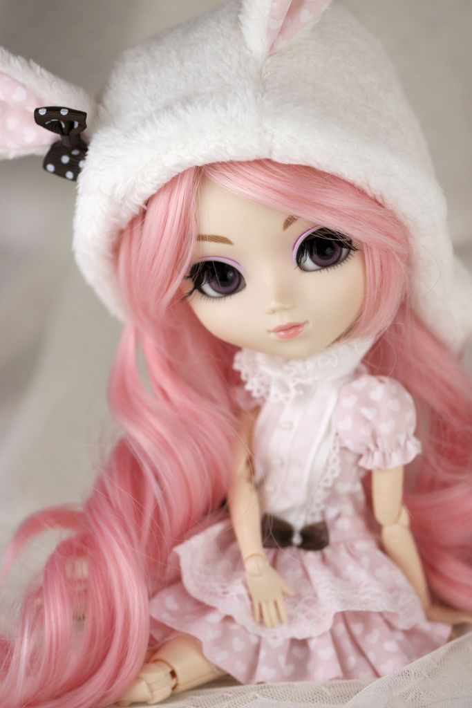 Pullip Hello Kitty in Pink by Valérie BusyMum   http://www.flickr.com/photos/busymum909      #pullip #doll #pink