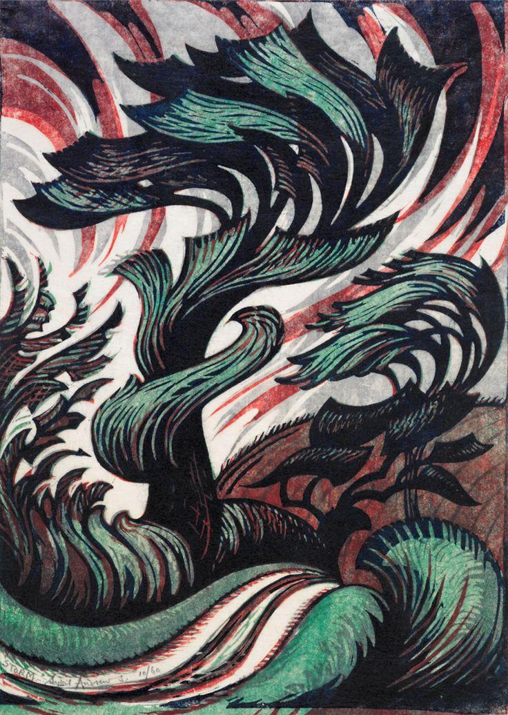Sybil Andrews - Storm, 1935