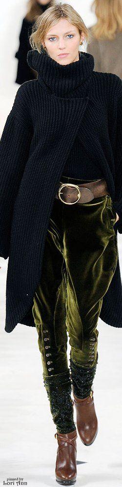 Ralph Lauren  beautiful except for the pop green color