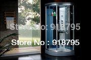 Wall corner luxury steam shower enclosures bathroom steam shower cabins jetted massage walking-in sauna rooms RS8032