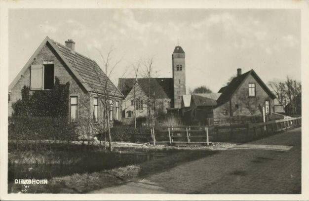 Dirkshorn (vanaf Stroet gezien) na 1919
