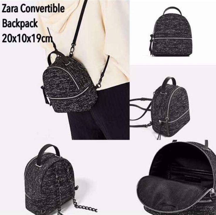 Tas Ransel Zara Backpack Mini Ori 7172 20x10x19 245rb