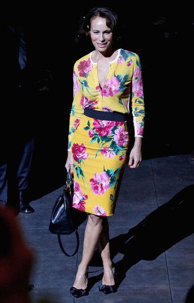 Andrea Dellal Photos - Dolce & Gabbana: Front Row - Milan Fashion Week Womenswear Autumn/Winter 2012/2013 - Zimbio