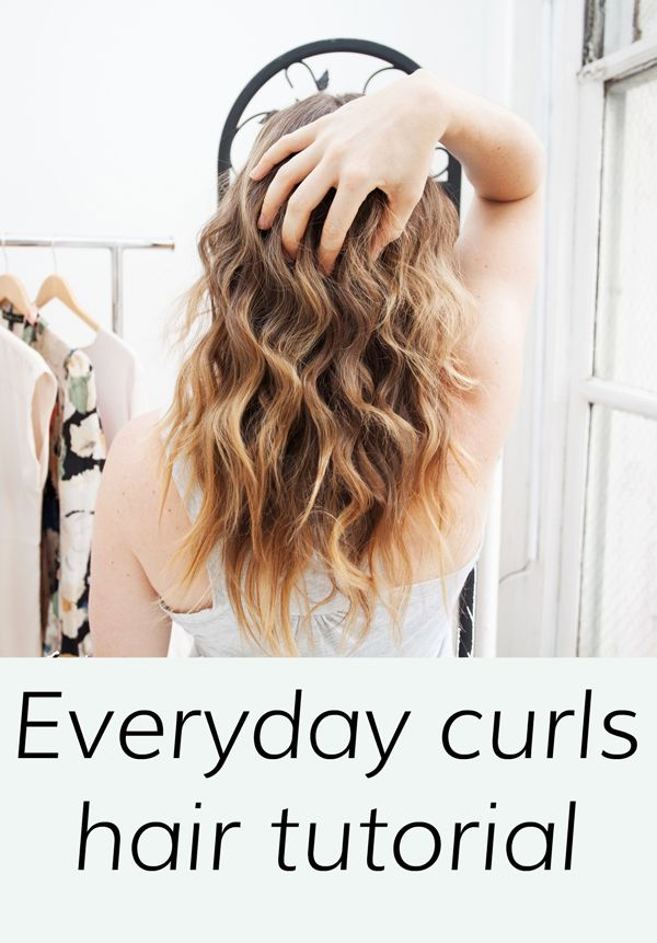 Pin now, curl later -- get these gorgeous waves EVERY DAY! | @halliekwilson