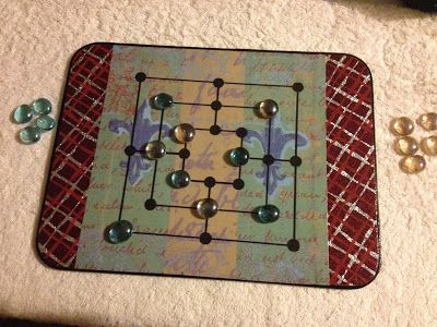 Faith and Felt Obsession: Placemat Game Boards