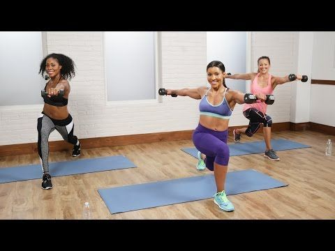 30-Minute Fat-Burning Cardio Sculpt Workout - YouTube