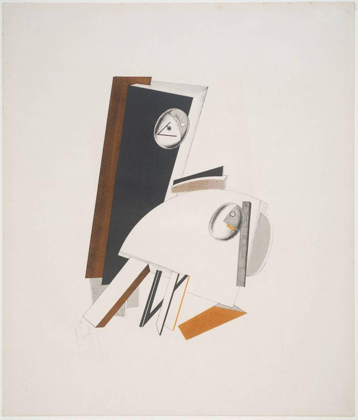 E.Lissitzky Anxious People 1923