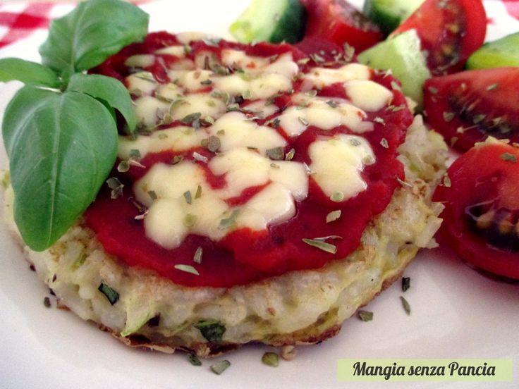 Pizzette+di+riso+in+padella