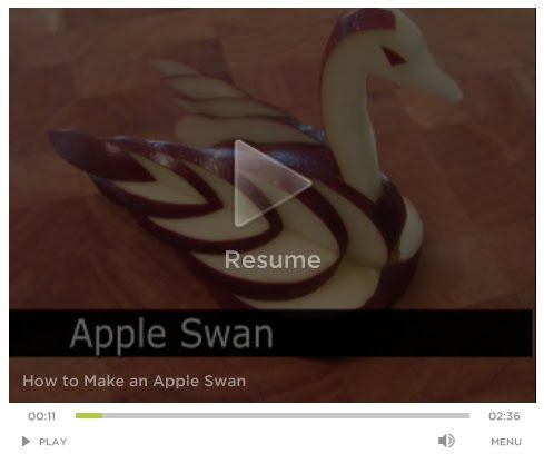 here is creative fruit carving of an apple swan this beautiful swan will be the star of your cheese plate or just amazing decoration for any food platter