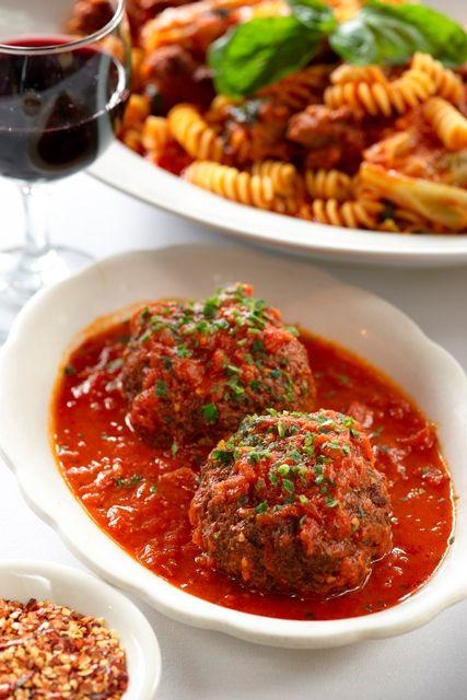 Famous Rao's meatballs- Best Italian restaurant in Las Vegas