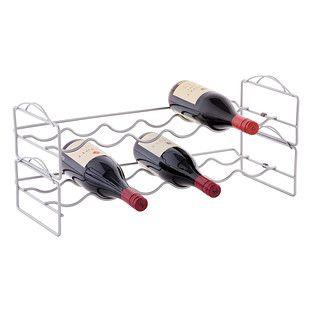 6-Bottle Stackable Wine Rack