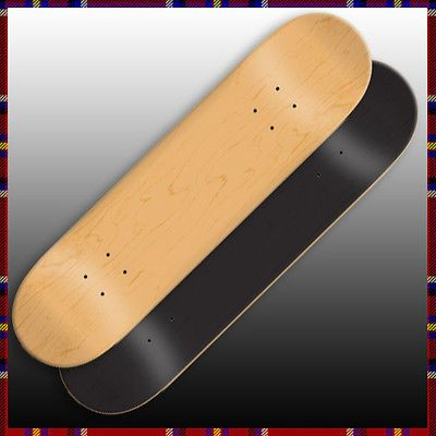 Decks 16263: 2 Blank Skateboard Decks 8.25 Extra Large W/ Pro Grip BUY IT NOW ONLY: $31.97