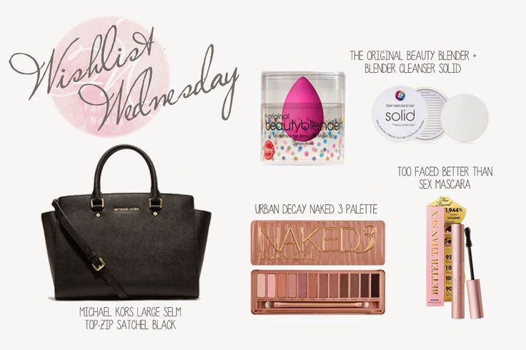Wishlist Wednesday #1