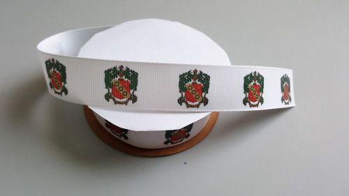 Alpha Gamma Delta Crest Grosgrain Ribbon Official Licensed Product