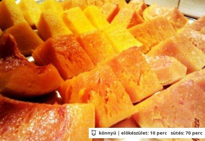 Sült sütőtök Lila Kancsótól