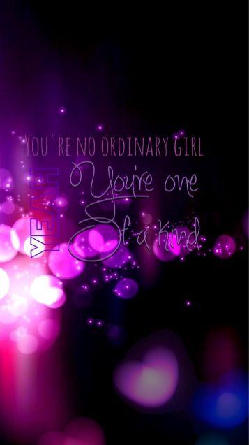 Wallpaper iphone 5. Ordinary Girl - Rebelution quote. #madeitmyself