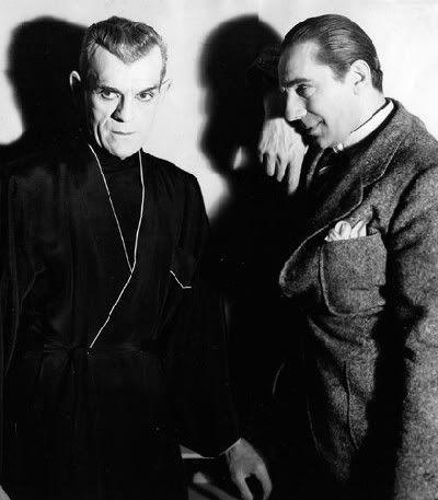 Horror History: Watch Vintage Doc Chronicling Bela Lugosi ...  |Boris Karloff Bela Lugosi