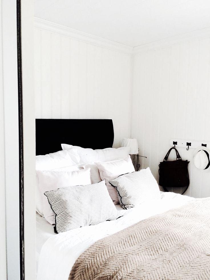 Bedroom. Skandinavian style
