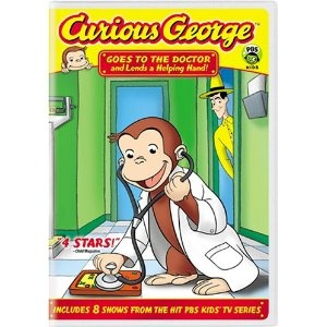 Curious George Goes to the Doctor DVD