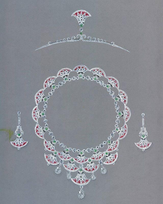 สงสารช่างจัง ฝังตาแตก #jewelrydesign #Egyptcollection #name Art Deco #d esign.by.pop_Theerawur