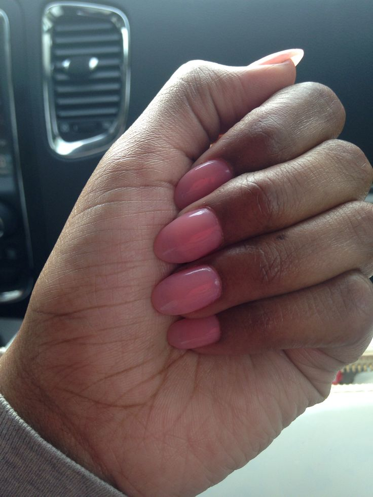 25 trending Pink oval nails ideas on Pinterest  Nails
