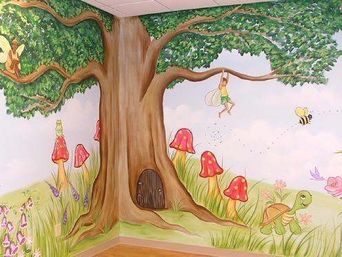 Atlanta murals - Childrens murals - Wall Art for Kids Rooms - Baby Room Decor - Atlanta Muralist