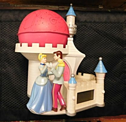 Disney Cinderella And Prince Digital Clock With Projector