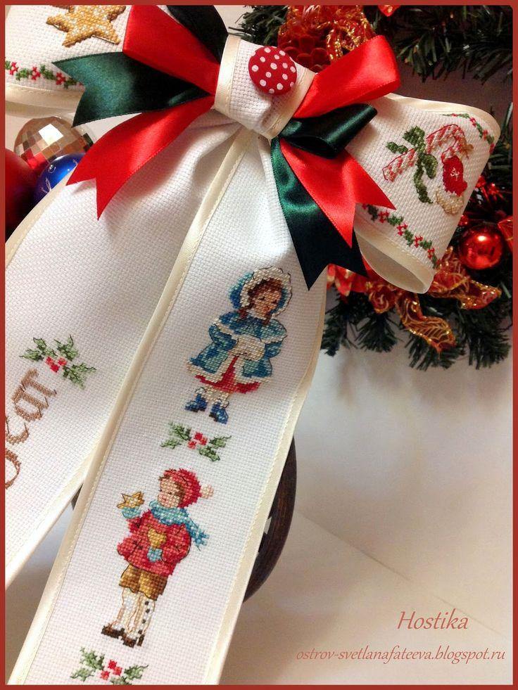 Island handmade fun .: Bow Christmas Tale ,, ,, Veronigue Enginger
