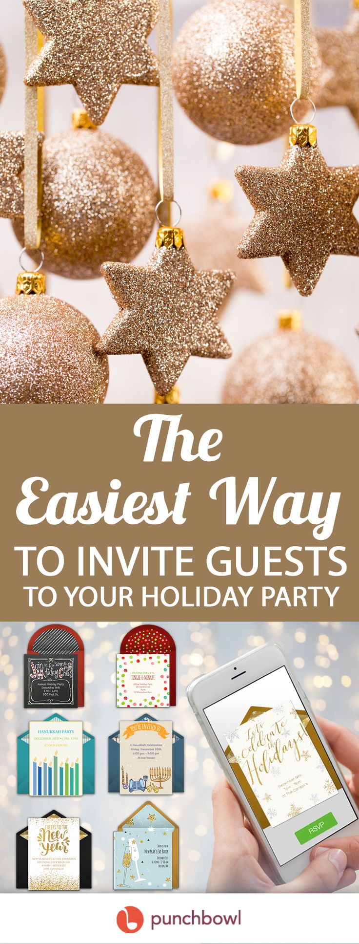 Paper invites are too formal, and emails are too casual. Get it just right with online invitations from Punchbowl. We've got everything you need for your Holiday party.   https://www.punchbowl.com/online-invitations/v/f/winter?filters=true?utm_source=Pinterest&utm_medium=137.5P