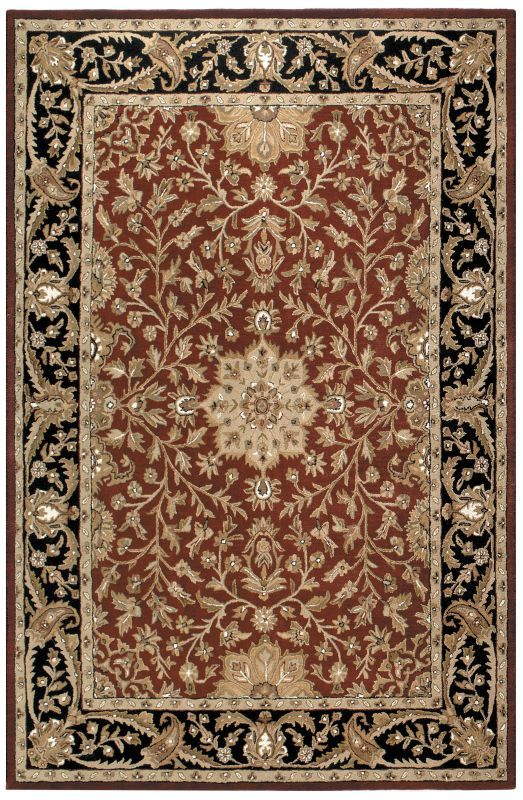 Superior St. Croix Trading Traditions Regal PT36 Burgundy Rug | Traditional Rugs