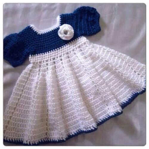 ♡ crochet dress for baby