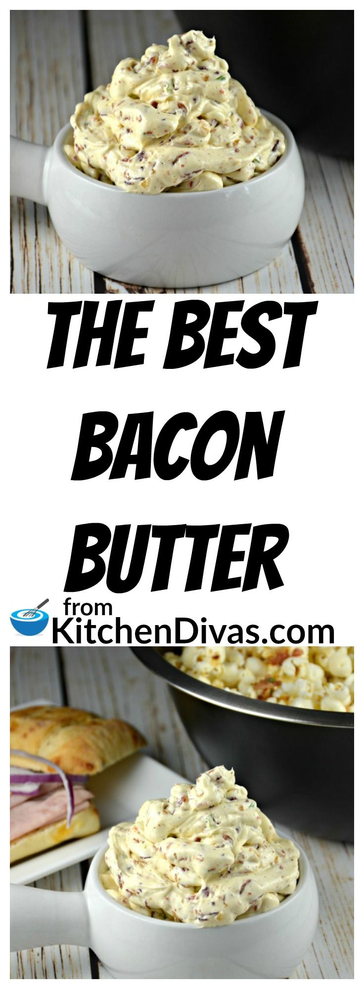 This recipe for the Best Bacon Butter is divine! We have used it on anything and everything that you use butter with! You are only limited by your imagination! Think about it! Eggs, popcorn, potatoes, steak and sandwiches! The possibilities are endless!