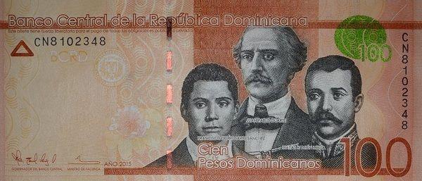 Matawang Republik Dominika (100 Pesos Dominicanos)