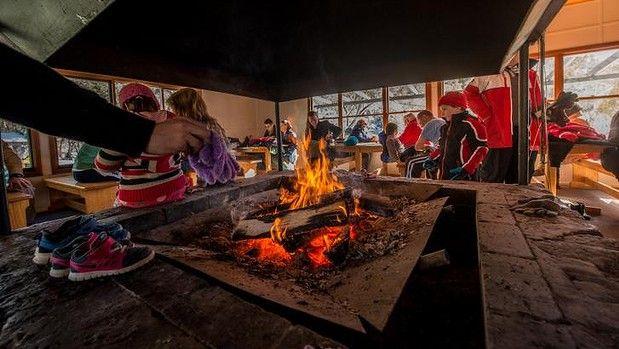Fireside dining in Canberra region.