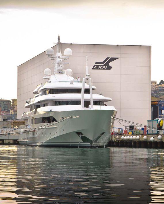 Chopi Chopi - The largest CRN superyacht yet. #yacht #italian #megayacht