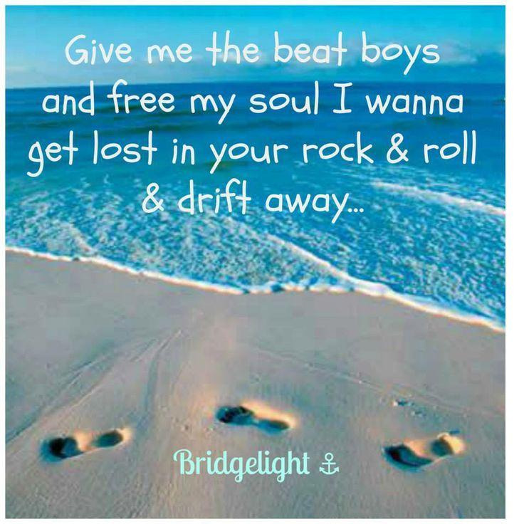 Lyric lyrics drift away : 56 best images about music! on Pinterest | Songs, Country girls ...