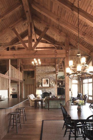 Goshen-Timber-Frame-Homes-Hybrid-Kitchen