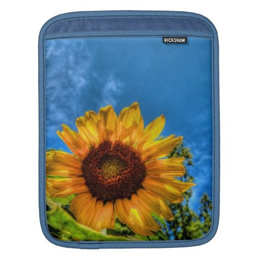 Sunflower Sleeve For iPads