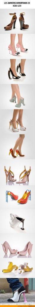 Los zapatos divertidos de Kobi Levi.
