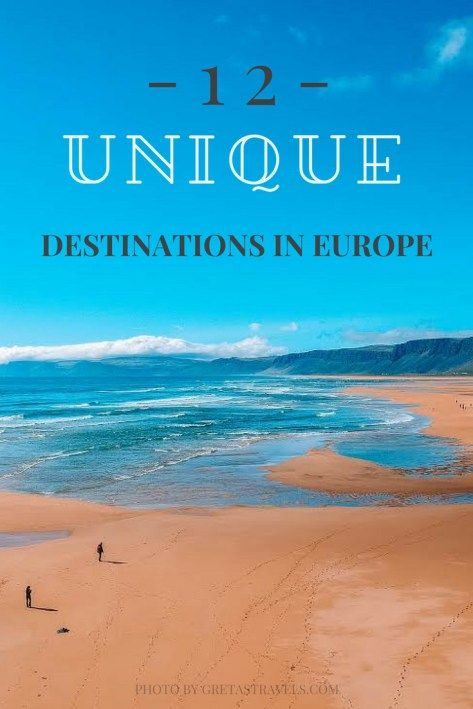 12 Offbeat Destinations in Europe