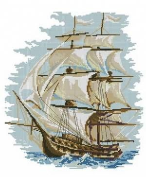 Морская тематика - Схемы в XSD - Кладовочка схем - вышивка крестиком