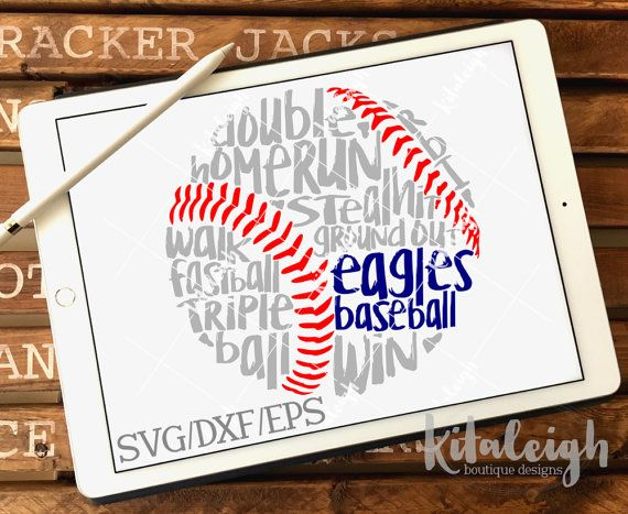 The Messy Eagles Baseball Design pack files files are for use with programs such as Silhouette Studio Software, Cricut Design Space, or other programs that can read .dxf, .eps, and .svg file types.  If you need a different format, please convo me prior to purchase. THIS IS NOT an Embroidery Design and cannot be converted to Embroidery File types.  ZIP FOLDER: The files are contained in a zip folder. They will need to be unzip/extract the files prior to opening/importing the files in...