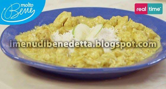 Pollo al Curry Veloce con Riso alla Mela Verde di Benedetta Parodi