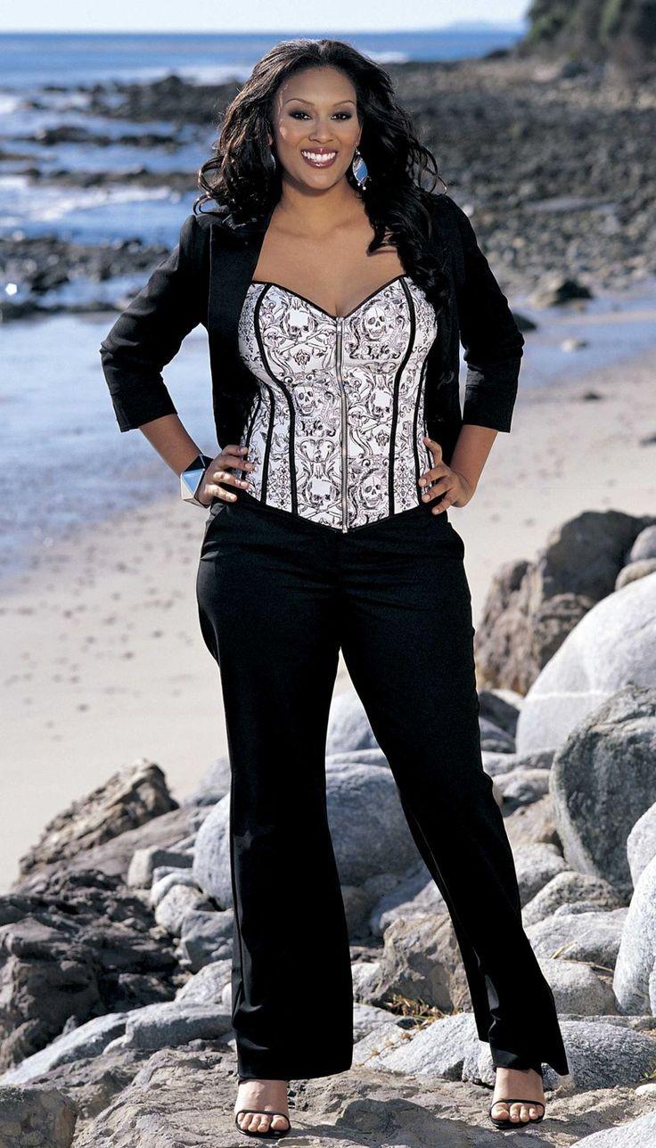 The Perfect Plus Size Corset Dresses! - plus size fashion for women                                                                                                                                                                                 More