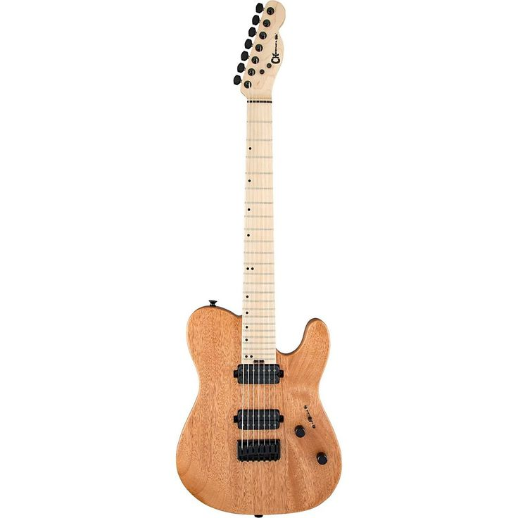 Charvel Pro-Mod San Dimas Style 2-7 HH Hardtail Okoume Electric Guitar Natural